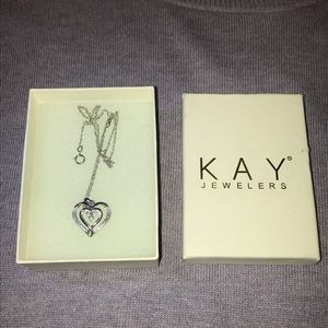 Brand New Kay Jewelers Heart Necklace!